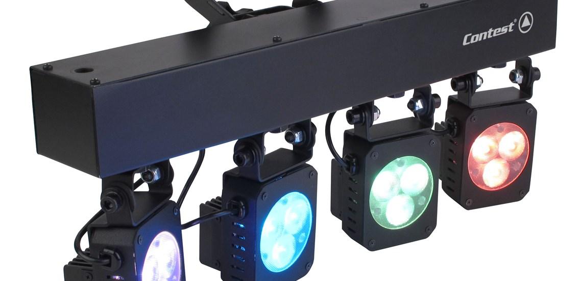 Projecteur couleur LED utilisé pour éclairage d ambiance ou éclairage  scénique, eclairage structure f7f378de431b